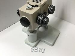 Olympus SZH10 Research Stereo Microscope, Magnification 0.7x to 7x, With Stand