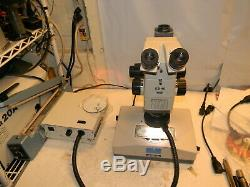 Olympus SZH10 Research Stereo Trinocular Microscope 1X Plan, SZH-ILLD Stand More