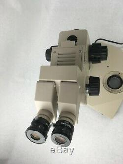Olympus SZH10 Research Stereo Trinocular Microscope SZH-ILLD Stand Df Planapo IX