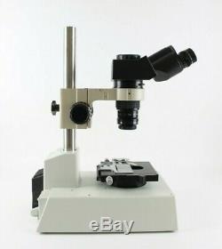 Olympus Stereo Monovar Macroscope Inspection System 6.71 Zoom Szx Base
