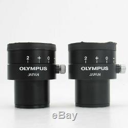 Olympus Szh-bi45n Binocular Head With 10x Eyepieces For Szh Stereo Microscope