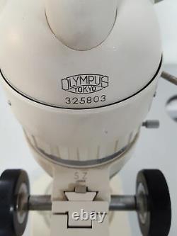 Olympus Tokyo Stereo Zoom SZ Binocular Microscope Lab