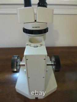 Olympus VM/VMT Stereo Microscope with Olympus Stand WF20X/12 Lenses