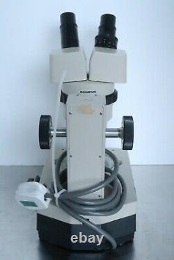 Olympus VMT with G10X Eyepieces, Stereo Zoom Microscope, with Stand