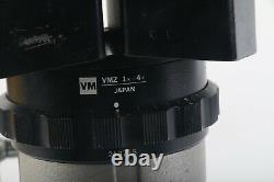 Olympus VMZ 1x-4x Laboratory Stereo Zoom Microscope With Stand