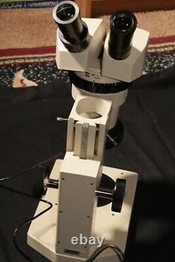 Olympus VMZ Stereo ZOOM Microscope, 10X to 80X, With LED Light. Excellent