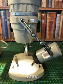 Olympus Zoom Stereo Microscope Model SZ Tr with TGHM power pack and LSG Lamp