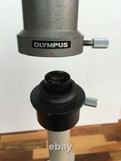Olympus microscope SZ-III-TR Trinocular stereo Phototube L FK3.3x PM-ADF GWH10x