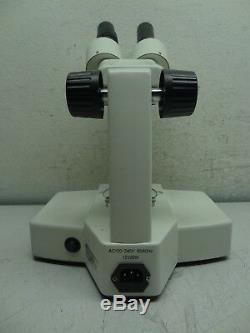 Omano Stereo Microscope Binocular 4413 Dual Power Lighted Set up
