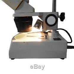 PCB Inspection Dissecting Binocular Industry Stereo Microscope with Halogen Lamp