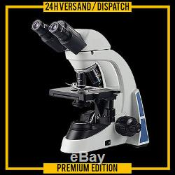 PROFI STEREO MICROSCOPE BINOCULAR LABORATORY LAB 40x-1000x MK7