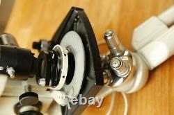 PZO Mikroskop Microscope Durchlicht-Mikroskop Binocular 4 Objectives Stereo PZ0