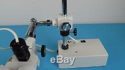 Prior Scientific SM3A StereoMaster 3 Binocular Stereo microscope W. Illuminator