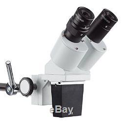 Professional Binocular Stereo Microscope Lab Biology