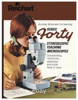 REFURBISHED AO American Optical series FORTY Stereo Microscope 10x 20x #2005
