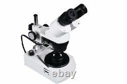 Radical 10x-20x-30x-60x Stereo stereo Gemology GSA Diamond Darkfield Microscope