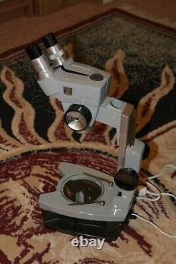 Reconditioned American Optical Spencer Stereo Microscope, with OPTIONAL Base