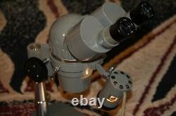 Reconditioned Olympus Stereo ZOOM Microscope, 7x-40X, with Stage Light