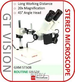 ST50B Binocular Stereo Microscope 20X Mag. PHONE REPAIR SOLDERING Microscope