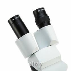 SWIFT 20X-40X-80X Incident Transmitted Light Watch Dissecting Stereo Microscope