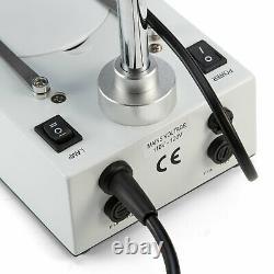 SWIFT 20X-80X Binocular Stereo Microscope w 3D View Option Top & Bottom Lights