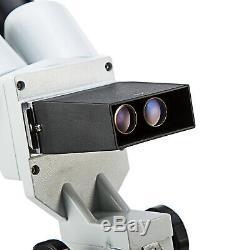 SWIFT 20X LED Binocular Stereo Microscope Boom Arm Stand Dual Light+3.0MP Camera