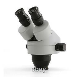 SWIFT 7.5X-45X Zoom Power PCB Repair Binocular Industrial Stereo Microscope Head