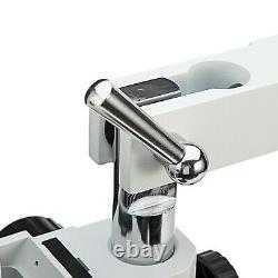 SWIFT 7X-45X Binocular Stereo Zoom Microscope with Double Arm Boom Stand