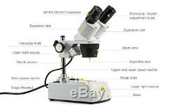 SWIFT Binocular Stereo Microscope 20X-40X-80X Forward Lab for Student Science