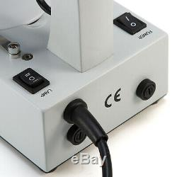 SWIFT Binocular Stereo Microscope with 2MP Camera, 20X/40X/80X, Tungsten Lighting