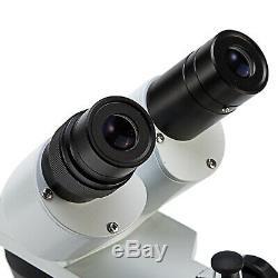 SWIFT Optical 10X 30X Upper Bottom Dual Light Lab Binocular Stereo Microscope