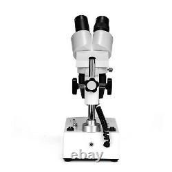SWIFT Rototable Dual Light Students Multi-Use 20X-40X-80X LED Stereo Microscope