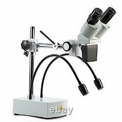 SWIFT S41-20 Professional Binocular Stereo Microscope, WF10x WF20x Eyepieces