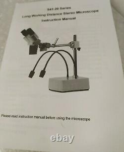 SWIFT S41-20 Professional Long Working Distance Stereo Microscope WF20X