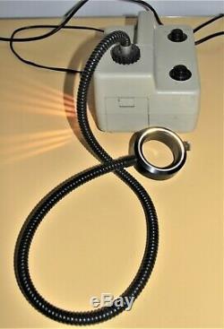 Schott KL1500 -T fibre optic ring light for stereo microscope
