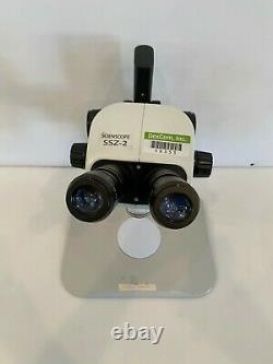 Scienscope SZ-BD-B2A SSZ-2 Stereo Zoom Binocular Microscope With Warranty