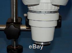 Scienscope XTL 88mm Nicroscope WF10X Eyepiece Binocular Stereo Zoom / Boom Stand