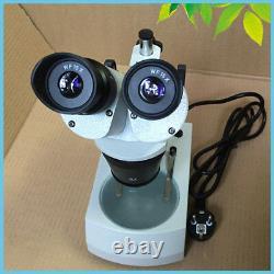 Soldering Binocular Stereo Microscope for PCB Repair 110V 220V Halogen Lamp