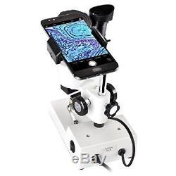 Solomark Stereo Microscope Mounted Binocular Science Lab 3D Scope 20X 40X Ma