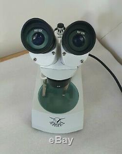 Stereo Microscope Aerospace Top/Bottom Lighting 2x & 4x objactive & WF 10X lens