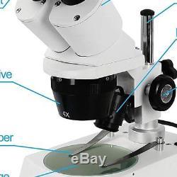 Stereo Microscope Professional Binocular Microscope Kids Student Breeding Worker