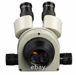 Stereo Zoom Binocular Trinocular Microscope Head with WF10X Wide Field Eyepiece