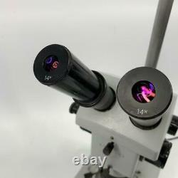 Stereo Zoom Microscope LOMO M6C-10 Binocular with Illumination