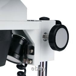 Swift Stereo Microscope 20X/40X/80X Magnification Dual LED Dissecting Inspection