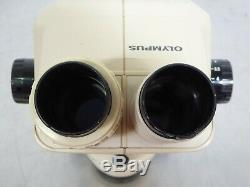 T160739 Olympus SZ3060 Stereo Zoom Microscope 0.9X-4X with SZ-STP Mount Holder
