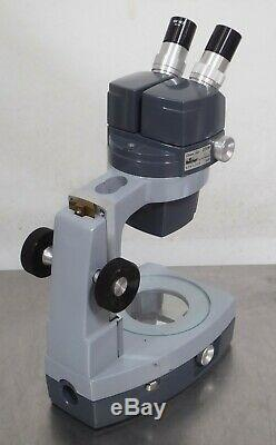 T167620 Reichert 569 Stereo Star Zoom Microscope with Stand, 10X WF Eyepieces