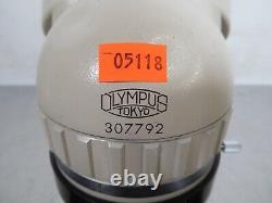 T170301 Olympus SZ Stereo Zoom Microscope Head, G20X Eyepieces, 0.75x Objective
