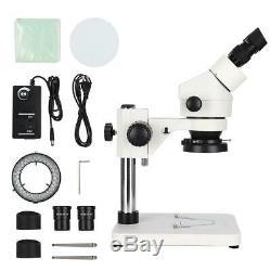 UD-7045 Binocular Stereo Microscopes 7-45x Phone Repairing Microscope US Plug