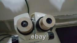 UNITRON JAPAN MODEL ZSM STEREO MICROSCOPE ZOOM 6X-30X, High Quality, With BOOM