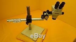 Unitron ZSM 200m Stereo Binocular Microscope ZF Series 0.6X-3X Used